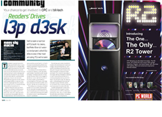 magasine custom pc advert